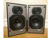 B&W DM100i speakers