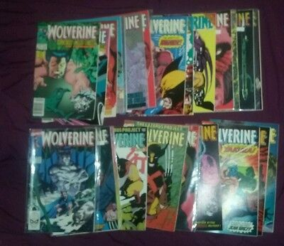 Wolverine Marvel Comics lot 11-34 run set collection movie uncanny Xmen origins!