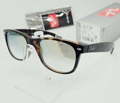 RAY BAN tortoise/gold gradient NEW WAYFARER FLASH RB2132F 710/Y0 sunglasses (Wayfarers Sunglasses Cheap)