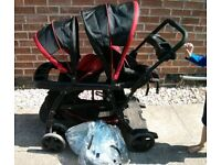 Graco Ready2Grow double pushchair