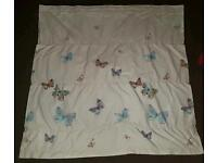 Velcro butterfly curtains