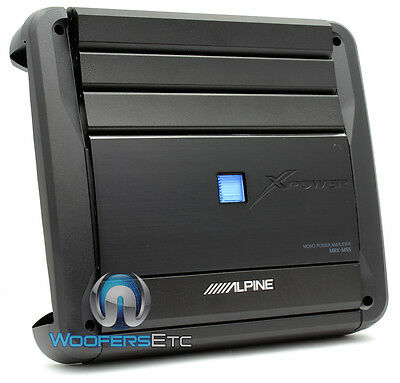 Alpine Mrx-m55 Monoblock Sub Amp 1100w Max Subwoofer Digital Car Amplifier on Sale