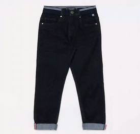 Maine New EnglandBoys Blue Ribbed Waist Cotton Jeans 3-4years new