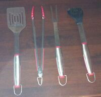 4 Piece BBQ Utensil Set (Like New)