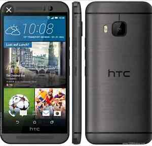 telus htc m9 perfect condition no scratches only on a side
