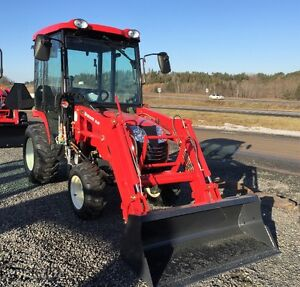 Branson 2400H Factory Cab Tractors for $284 Monthly