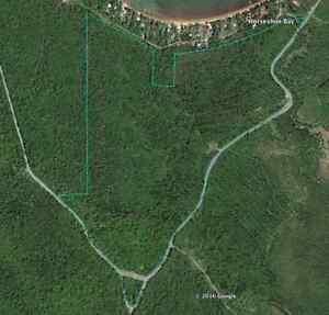 107 acre bush lot south of Horseshoe Bay