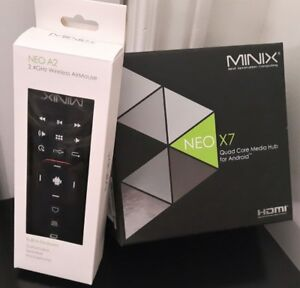 Minix NEO X 7 - Quad-Core smart media hub streamer - Kodi XBMC