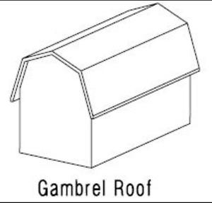 Doors buy garden patio items for your home in winnipeg for Gambrel roof dimensions