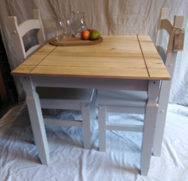Dining table and 2 chairs, Delivery Available