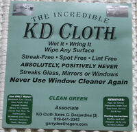 """The Incredible K D Cloth"""