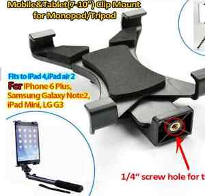 Tripod Monopod Mount Holder for Tablet PC GPS PDA Universal Tab