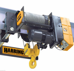 3 Ton Electric Hoist by Harrington RHN03U 20A – Showroom Demo