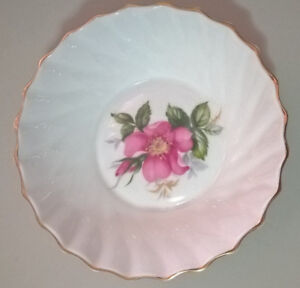 Vintage Royal Adderley Canadian Provincial Flowers Prairie Rose