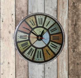 Windmill style wall clock, wall art