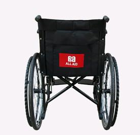 ALL AID Wheelchair Self Propelled Folding Lightweight