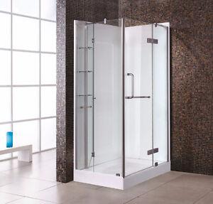 Large shower 36'' depth NEW/Grande douche de 36'' de profond