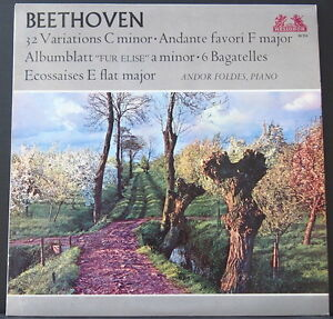 HELIODOR-89-514-BEETHOVEN-VARIATIONS-BAGATELLES-FOLDES-ENGLISH-PRESSING