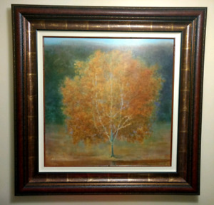 """55"""" x 55"""" Framed Painting"""