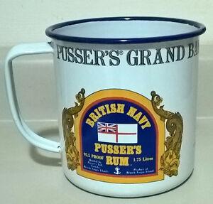 British Navy PUSSER'S Grand Bahama Island Drinking Mug