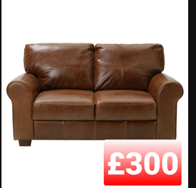 Salisbury 2 seater sofa. Tan