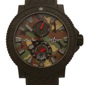 Ulysse Nardin Watch Marine Diver Limited Edition Camo 263-92