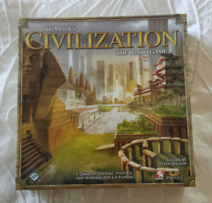 For sale Sid Meier's Civilization, The Board Game