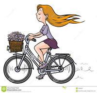 """White 26"""" Woman's Bike"""