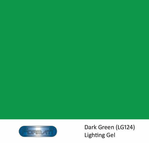 Formatt Lighting Gel: Green - Roll size: 25