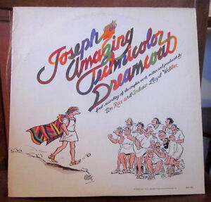 Joseph & the Amazing Technicolor Dreamcoat VINYL Album 1974 Kitchener / Waterloo Kitchener Area image 1