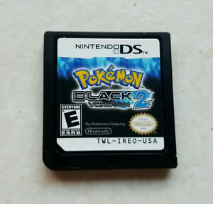 Pokemon Black 2 - Cartridge Only - Great Condition - 25$ obo