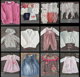 3-6m baby girl bundle