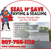 Seal N Save Blacktopping Inc (Paving N Sealing)  7681112