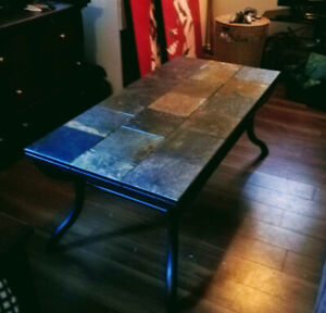 Indoor/Outdoor Coffee Table and 2 Side Tables