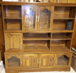 FREE Wall Unit with lighting