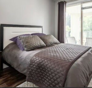 Queen bed for sale from inspiration furniture!