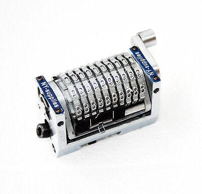 316 Rotary 10 Digit Straight Backwards Numbering Machine For Heidelberg Gto