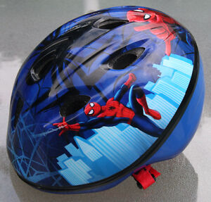 REDUCED PRICE: Spiderman bike and helmet - reconditioned London Ontario image 4