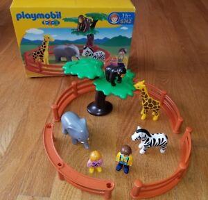 Jeu Playmobil 1-2-3 Zoo # 6742