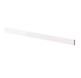 IKEA FORBATTRA Matt white Decor strip for kitchen cabinets