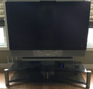 "Home Theater + 52""JVC Projection TV+Stand"