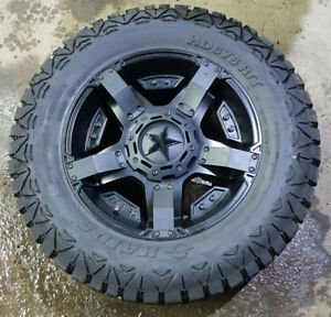 Rockstar Rims and Haida Tires 20""