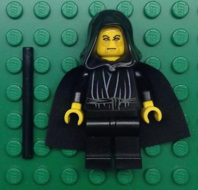 LEGO EMPEROR PALPATINE MINIFIG Star Wars sith minifigure darth sidious 7166 7200