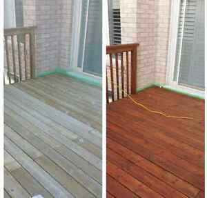 Patio/Deck Cleaning & Staining