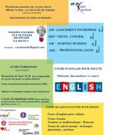 Formation Lancement d'entreprise – VENTE CONSEIL Aide financière
