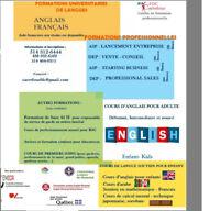 Formation Lancement d'entreprise – VENTE CONSEIL Starting Busine