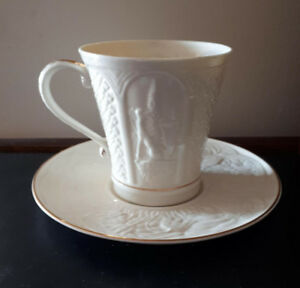 Lovely Belleek Ireland tea cup and saucer