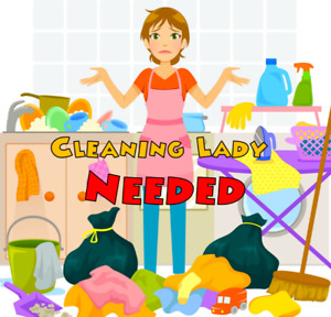 Cleaning lady needed