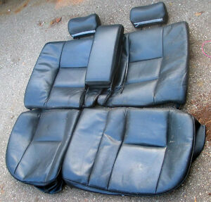 1996 Saab 900SE complete black leather interior + other parts