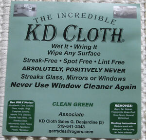 "The Original & INCREDIBLE ""KD CLOTH"""